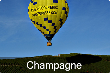 Hot air balloon in France - Paris area, Loire Valley and Champagne ...