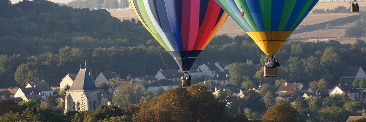 Hot air balloon Provins (VIP) - AERFUN Paris Balloons
